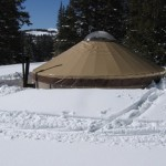Skiing the Beehive's Backcountry Yurts