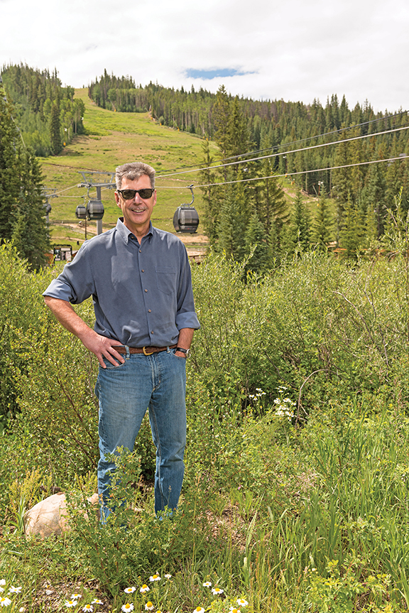 Blaise Carrig of Vail Resorts