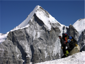 A beautiful day on Mt. Everest