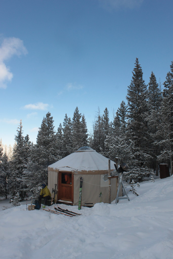 Boundary Creek Yurt 2