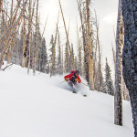 Ridge and Boundary- Backcountry Skiing from the Uinta's North Slope Yurts
