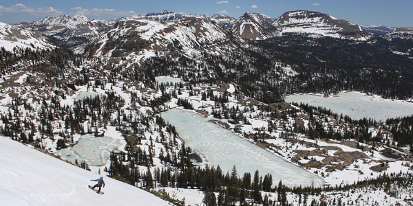 The Thin White Line: Late Spring Skiing in Utah's Uinta Mountains