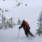 Backcountry Skiing in the West Desert