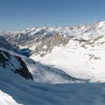 Skiing Across the Range of Light