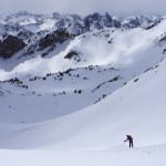 Powder, Corn and Champagne- A Sawtooth Ski Traverse