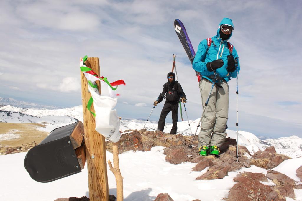 Delano Peak Summit