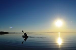 Sunset kayak Tour, Antelope Island