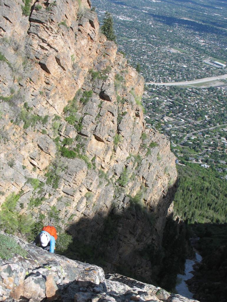 Slab looks steep