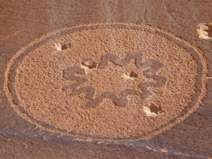 Permanent damage from target shooting mars a 2000 year old petroglyph