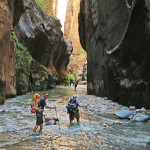 From the Top Down- Backpacking the Zion Narrows