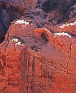 Faraway Arch from Redbud Spine