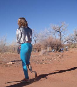 Chad w running leg